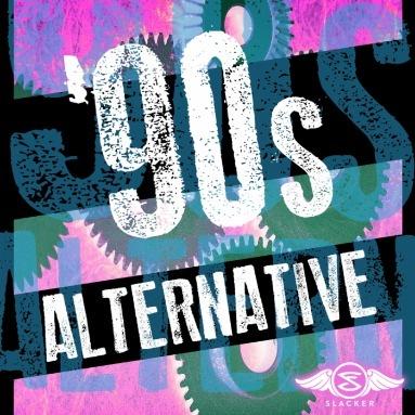 ''90s Alternative' Station  on Slacker Radio